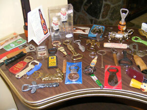 Bottle opener and cork screw collection Kawartha Lakes Peterborough Area image 1