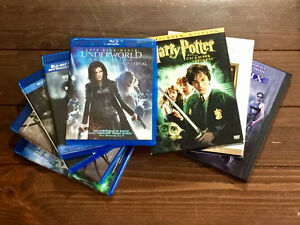 Various DVDs (Titles and Prices listed in description)