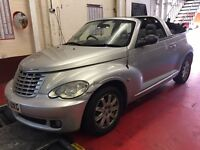 CHRYSLER PT CRUISER 2.4 L AUTOMATIC LIMITED 12 MONTHS MOT 2006 CONVERTABLE