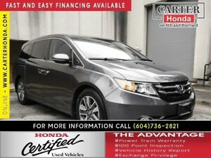 2016 Honda Odyssey Touring + CERTIFIED + 7YR/160000 KMS!