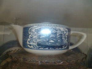 300+ pcs Currier and Ives China by Royal