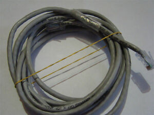 BRAND NEW CAT 5 ETHERNET CABLE WHITE 10 FEET LONG - CONNECT PC