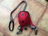 Little life backpack reins ladybird