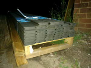 $10/metre Ekodeck Plus 88 x 23mm x 5.4m Grey Grooved