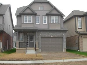 Brand New Detached with Finished Basement  For Rent -Waterloo