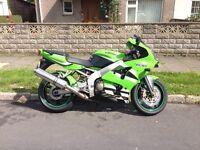 2003 Kawasaki ZX636, Long MOT, lovely bike