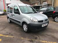 2008 RENAULT KANGOO 1.2 AUTHENTIQUE WHEELCHAIR ACCESS RAMP 3 SEATS