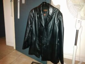Ladies Leather Jacket Blazer fits size 10-12