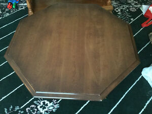 Octagon coffee table $25