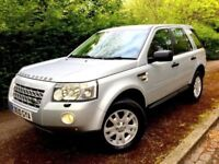 **STUNNING** 2010 LAND ROVER FREELANDER XS TD4 2.2 AUTOMATIC SILVER 4X4 HATCH