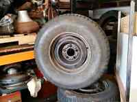 (1) Good used spare 235/75/R15  ( Sport king Radial )