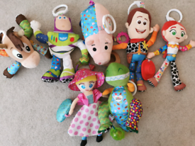 Toy Story Lamaze Clip And Go Baby Toys
