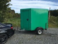 Indespension Box Trailer go kart motocross Moto X motorbike