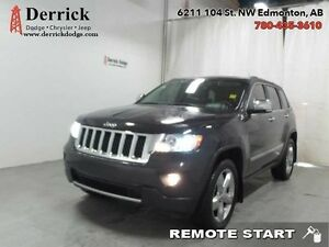 2011 Jeep Grand Cherokee AWD Overland Hemi Sunroof Nav $220 B/W
