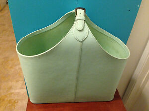 LARGE LEATHER CRAFT TOTE