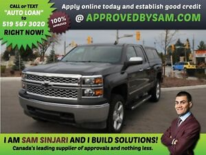 SILVERADO - Payment Budget and Bad Credit? GUARANTEED APPROVAL.