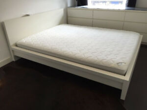 KING Size MALM bed from IKEA