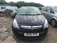 2011 (61 reg) Vauxhall Corsa 1.2 i 16v Exclusiv 5dr Hatchback Petrol Low Miles