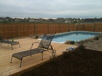 POOL openings and cleanings