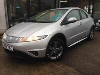 2009 (09) Honda Civic 1.4i-DSI SE **2 Keys, Local Car, 6 Speed, 63,000 miles**