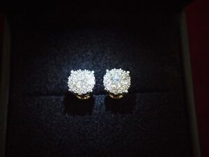Beautiful 1.05ct. Diamond Earrings, Appraised at $3650!