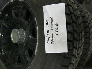 Chev or GMC 6 bolt winter tires