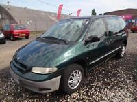 CHRYSLER VOYAGER 2.5 CRD SE~MPV~5 SPEED MANUAL~METALLIC GREEN~SUPERB CAR