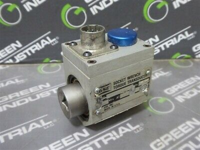 Used Gse 038240-00500 Socket Wrench Torque Transducer 2.000 Mvv At 50 Ft-lbs
