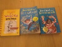 Diary of a wimpy kid dog days,billionaire boy and rat burger for sale