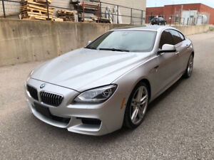 2013 BMW 650XI M-Pack Gran Coupe ONLY $34,888