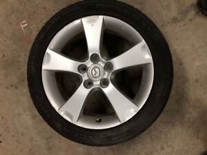 "17"" Mazda Alloy Wheel"