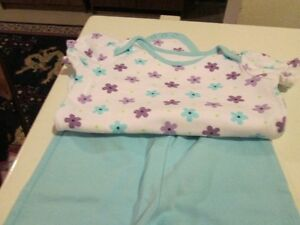 Short sleeved shirt and pants (6-12M) Kitchener / Waterloo Kitchener Area image 1