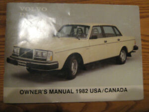 Volvo 240 owner manual