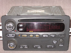 1999 - 2004 Alero car radio CD player