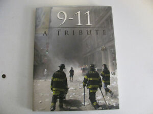 NEW YORK TWIN TOWER 911 TRIBUTE BOOK