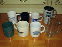 Assorted Mugs (8) for $5 total