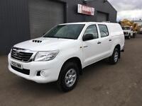 * SOLD * 2013 Toyota Hilux 2.5 D4-D HL2 Double Cab 4x4 Diesel Pickup *98k*
