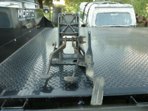 Clutch - Brake - Gas Pedal Assembly from a 97 Dodge Diesel Truck