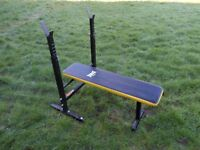 Good condition Folding Bench Everlast