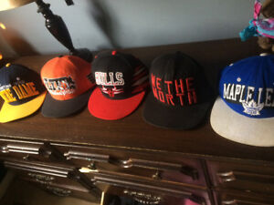 5 SnapBacks 5$ per hat 10 $ for all