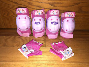 Disney Princess Protective Elbow & Knee Pads and Gloves