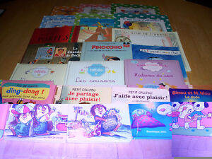 19 FRENCH Edition Books - Early Grades 1-4+