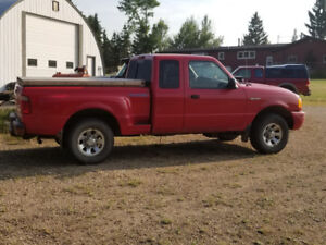 2001 Ford Ranger Edge ext. cab for sale