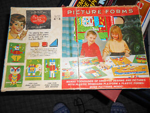 *** Vintage Picture Forms Game ***