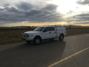 2013 F150XLT with Bandit bar, topper, airbags, running boards