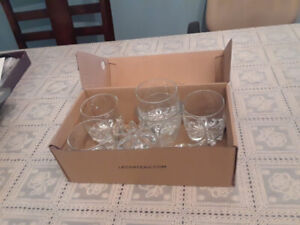 Glass set , Cutlery tray and Dish rack