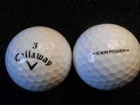 Callaway CRX Golf Balls x 100. Pearl Condition