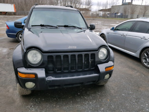 Jeep liberty 2003 noir