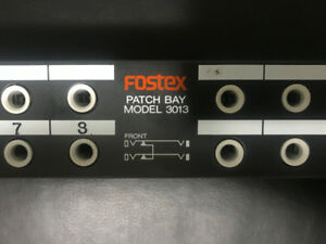 Fostex Patch Bay - 3013