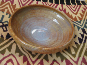 Shallow Ceramic Pottery Bowl